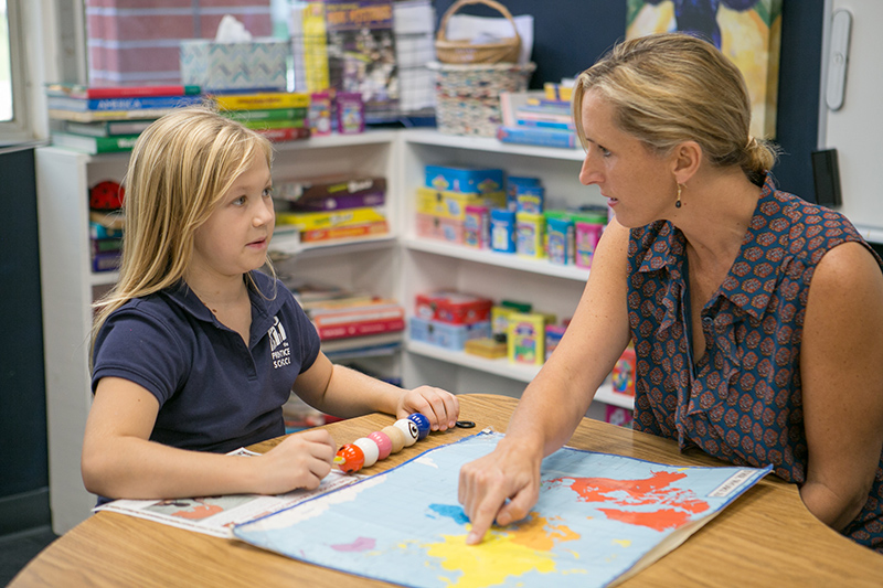 Student with Speech Teacher