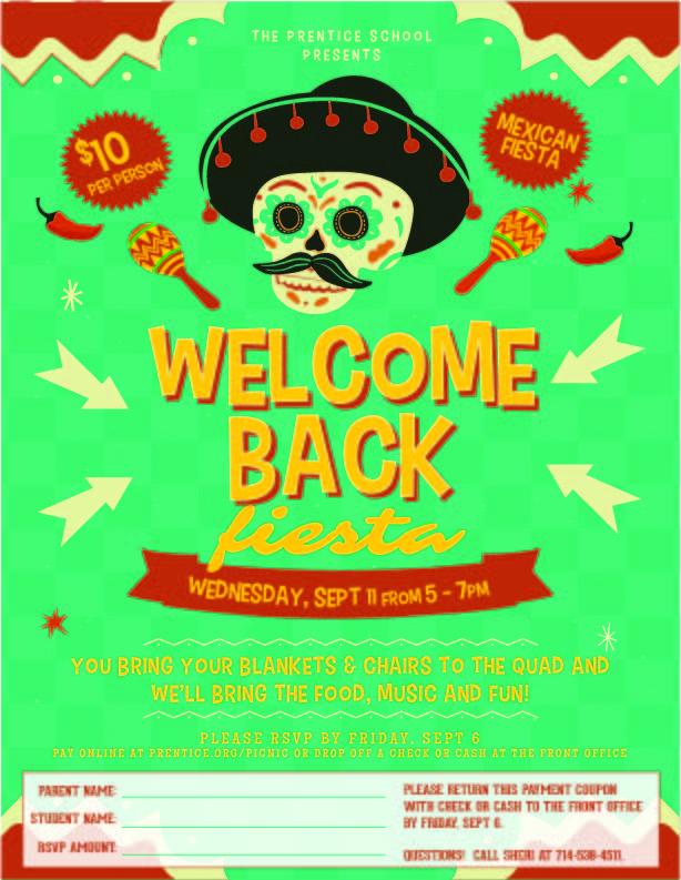 Welcome Back Fiesta